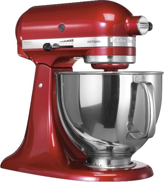 kitchenaid artisan 5ksm150pseca keukenmachine appel rood. Black Bedroom Furniture Sets. Home Design Ideas