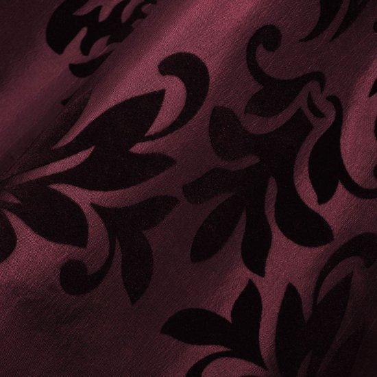 bol.com | vidaXL 2 Gordijnen tafzijde barok 140 x 225 cm bordeauxrood