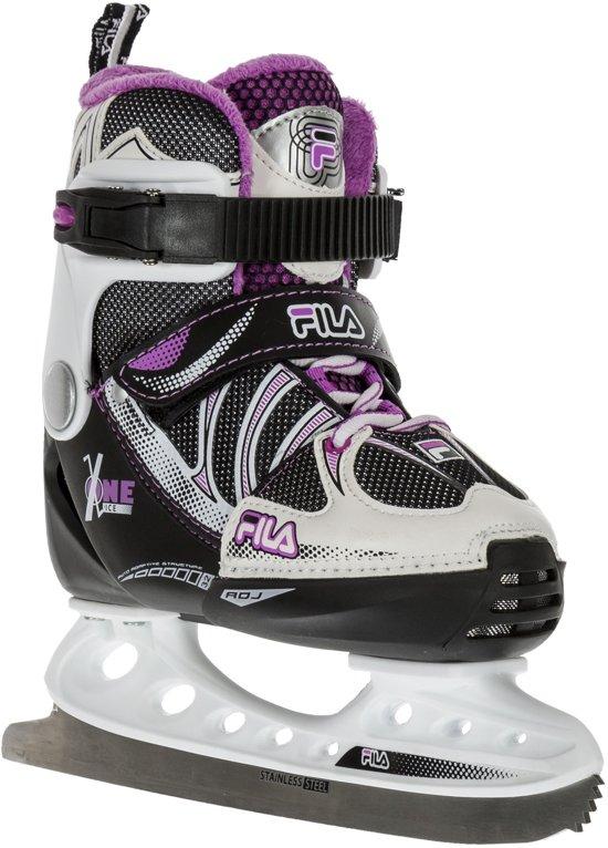 Fila Schaatsen - Maat 32-36 - Unisex - zwart/wit/roze