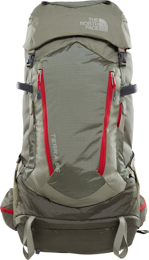 The North Face Terra 65 Backpack - L/XL - Grape Leaf/deep Lichen Green