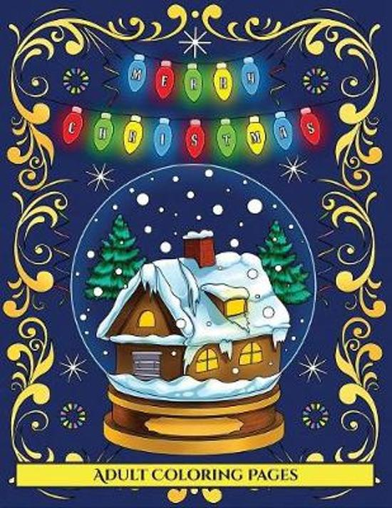 Adult Coloring Pages (Merry Christmas)