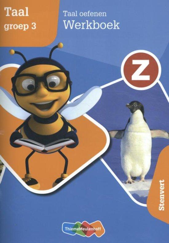 Afbeelding van Z-Taal Taal oefenen groep 3 Werkboek