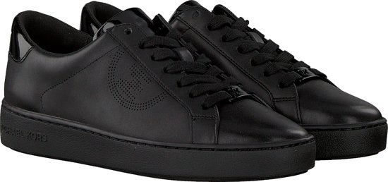 Michael Kors Keaton Lace Up Dames Sneaker - Zwart Maat 39 yy2luWri