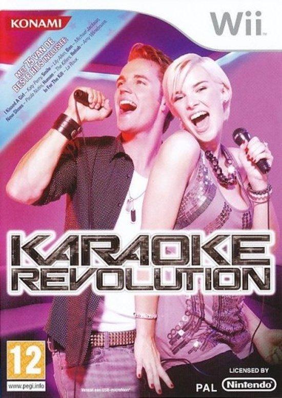 Karaoke Revolution - Nintendo Wii