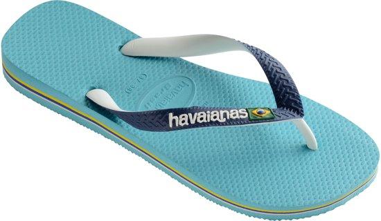 Havaianas Brasil Pantoufles Bleu Mix rubdQSjypB
