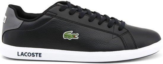 606c573cba0422 Lacoste Graduate LCR3 118 1 SPM Sneakers - Maat 44 - Mannen - zwart grijs