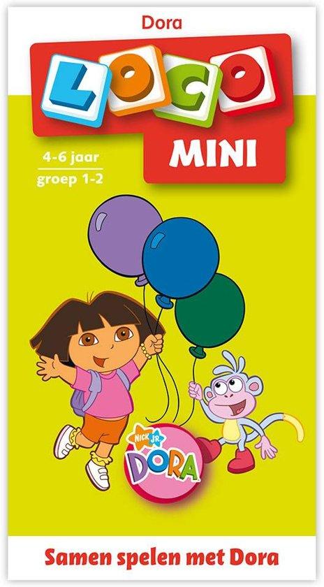 Boek cover Mini Loco boekje / Samen spelen met Dora van Uitgevers Noordhoff (Paperback)