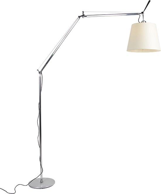 Artemide Tolomeo Vloerlamp.Artemide Tolomeo Verstelbare Vloerlamp 1 Lichts H 2850 Mm Aluminium