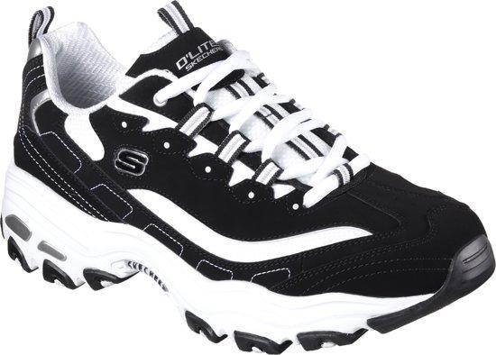 Skechers D'Lites Heren Sneakers Zwart Maat 45