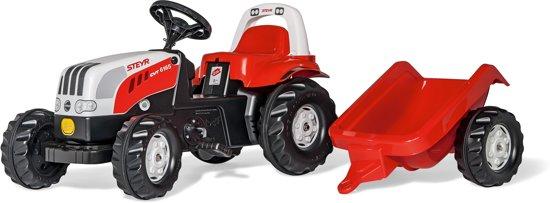 Tractor Steyr 6190Cvt Met Aanhanger