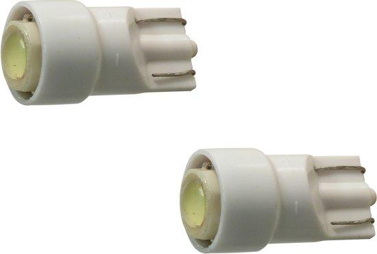 Carpoint Autolampen T10 Led 12 Volt 1 Watt Wit 2 Stuks