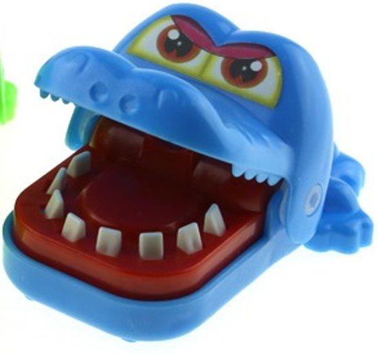 Afbeelding van het spel Spel Bijtende Krokodil - Blauw - G&S