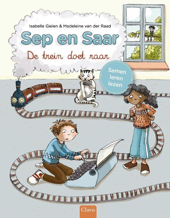 Clavis Leesboek Sep en Saar De Trein Doet raar