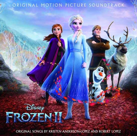 CD cover van Frozen 2 (Engelstalige Soundtrack) van Original Soundtrack
