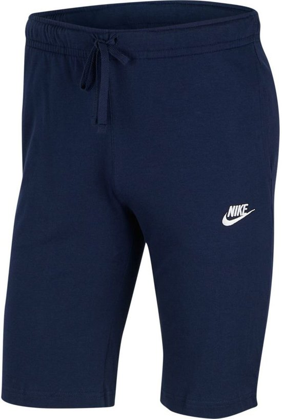 Nike Nsw Club Short Jsy Heren Sportbroek - Midnight Navy/(White) - Maat XL