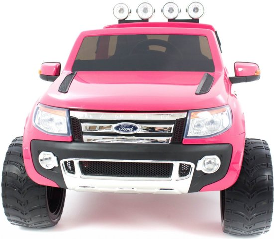 Ford Ranger kinderauto roze