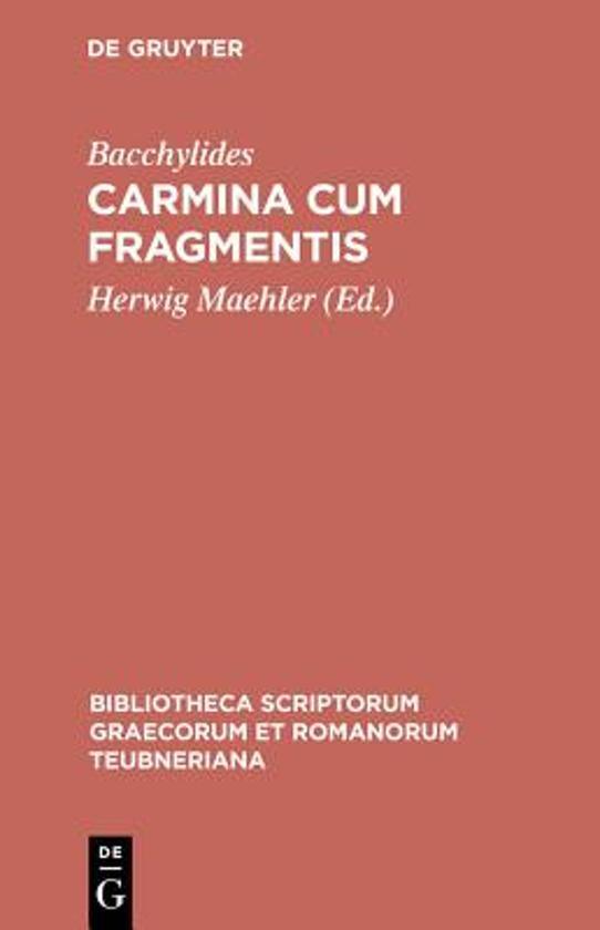 Carmina Cum Fragmentis CB