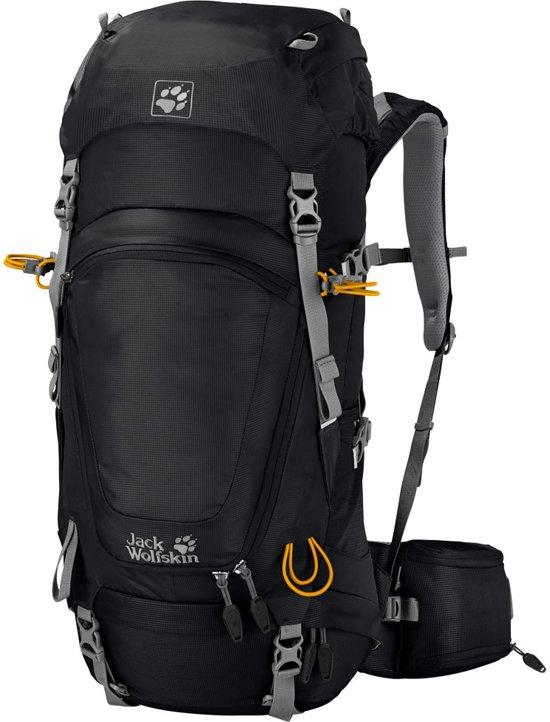Jack Wolfskin Backpack - Unisex - zwart/grijs