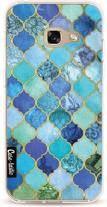 Casetastic Softcover Samsung Galaxy A3 (2017) - Aqua Moroccan Tiles