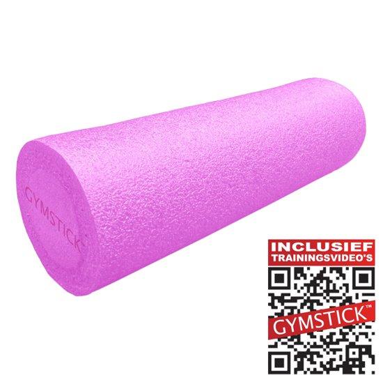 Gymstick Emotion - Foam roller - 30 x 15 cm - Met trainingsvideo's - Roze voor €12,50