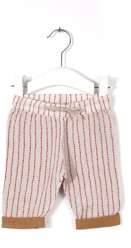 Imps & Elfs Unisex Joggingbroek - cookie/love red - Maat 80