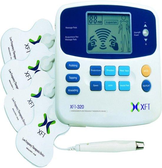 TENS Massage Apparaat Met Acupunctuur Pen - EMS Therapie - Elektrische Spier Stimulator