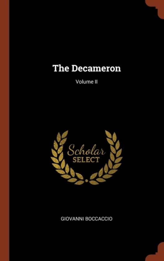 The Decameron; Volume II