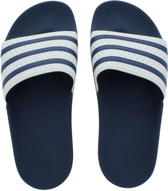 bol.com | adidas Adilette G16220 Blauw;Wit maat 40.5