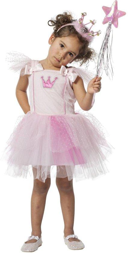 Ballerina jurk licht roze voor meisje maat 98