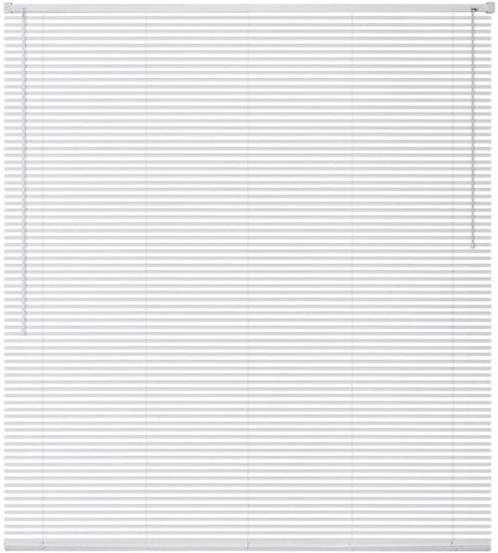 Zonwering aluminium 60x130 cm wit