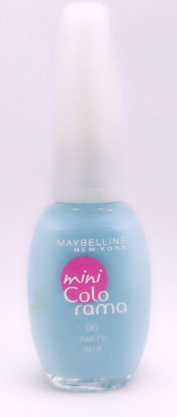 Maybelline New York Nagellak Mini Colo Rama - 96 Party Blue