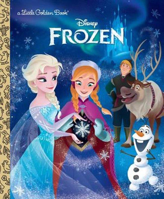 Boek cover Frozen (Disney Frozen) van Victoria Saxon (Hardcover)