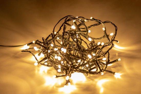 maxx kerstverlichting - 80 led lampjes - lichtsnoer voor binnen & buiten