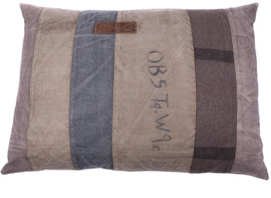 Lex & Max Vintage - Hondenkussen - Rechthoek - OBS - 100x70cm