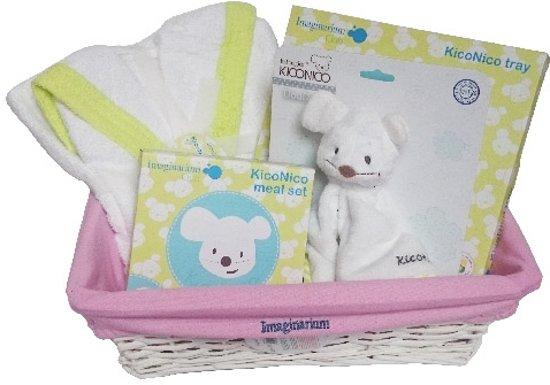 Imaginarium Kraammand Meisje - Mand met Cadeaus voor Pasgeboren Baby