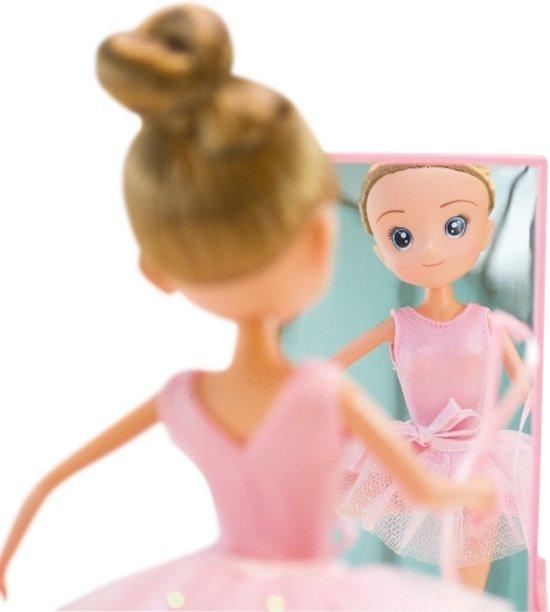 Imaginarium - VALENTINA BALLET DANCER - Meisjespop Ballerina - 27 cm - Inclusief Accessoires