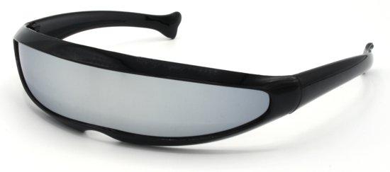 33644147bf0d0c Snelle Planga Zonnebril Zwart met Smoke glazen