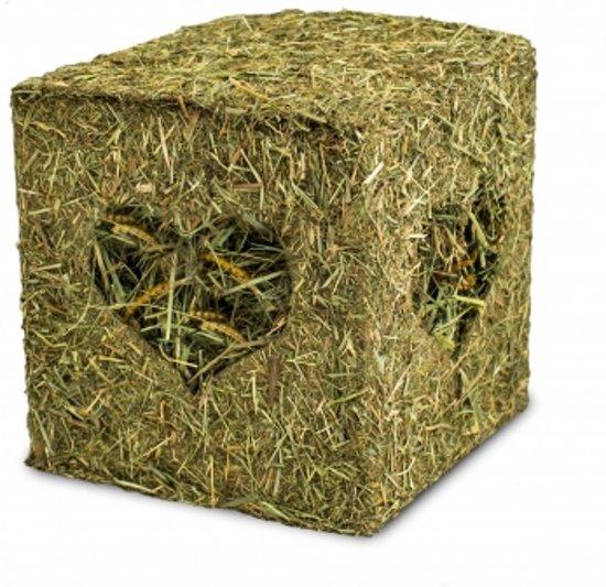 JR Farm - Hooiblok met meelwormen - 125g - voor Knaagdieren