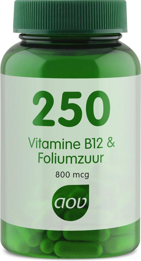 Bolcom Aov 250 Vitamine B12 Foliumzuur 60 Vegicaps