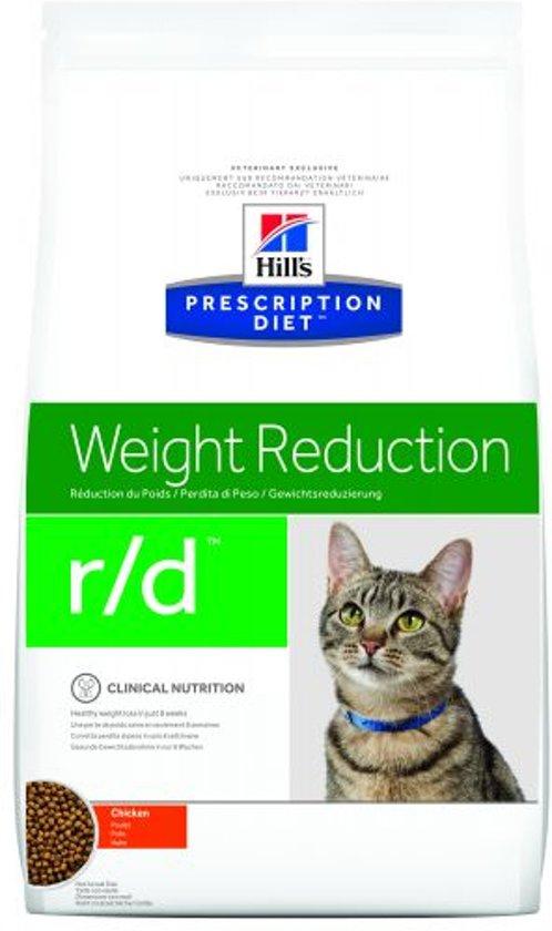 Hill's Prescription Diet Feline R/D Weight Reduction - Kip - Kattenvoer - 5 kg