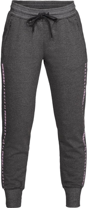 Warme Joggingbroek Dames.Bol Com Under Armour Tb Ottoman Fleece Pant Sportbroek Dames Jet