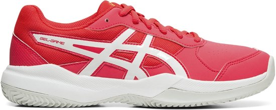 Asics Gel Game 7 GS tennisschoenen meisjes koraalwit