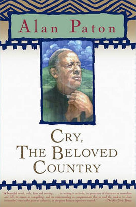 an overview of the racial concerns in cry the beloved country by alan paton
