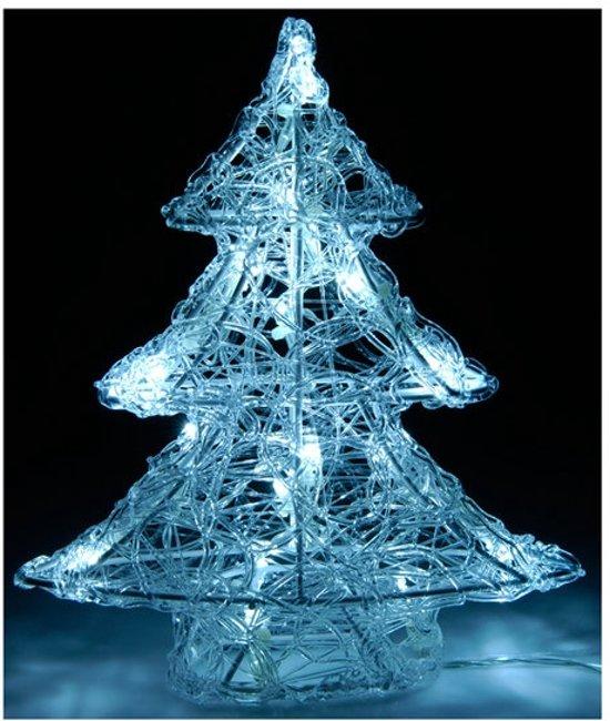 kerstboom 25 cm met led verlichting