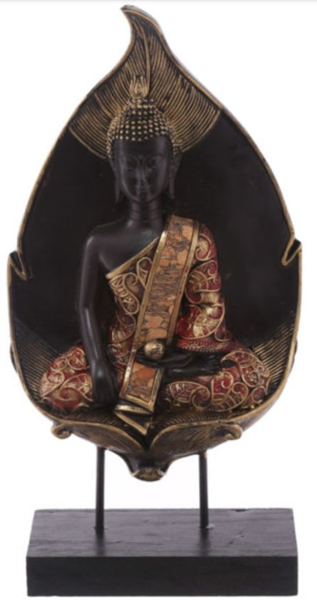 decoratieve boeddha in bladvorm