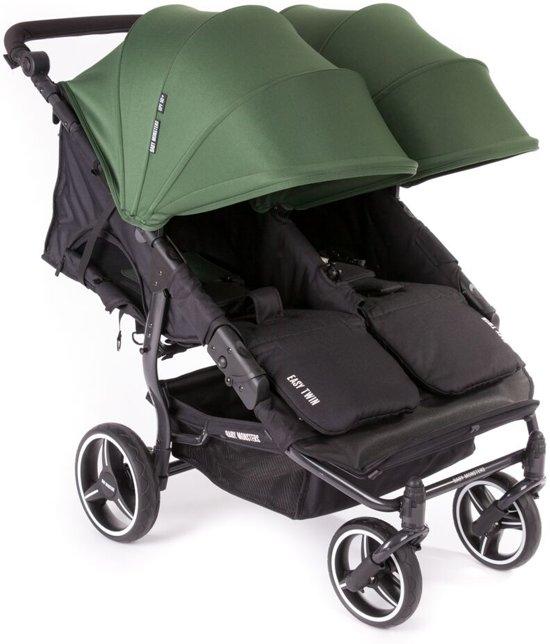 bol.com   Baby Monsters Kinderwagenkap Easy Twin Color Pack Groen