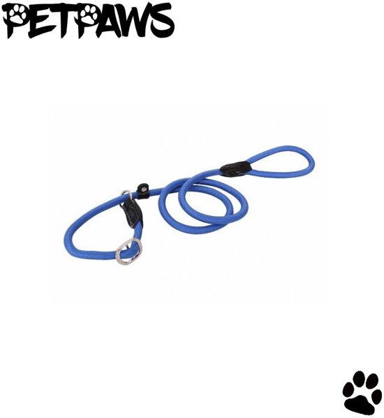 PetPaws Retrieverlijn - Jachtlijn met 2 Stops - Freestyle - 130cm | 13mm - Blauw