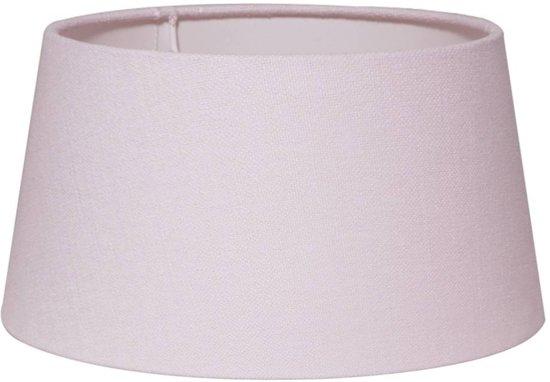 Light & Living PRUNUS Ovaal - lampenkap - 21 cm - Licht Roze