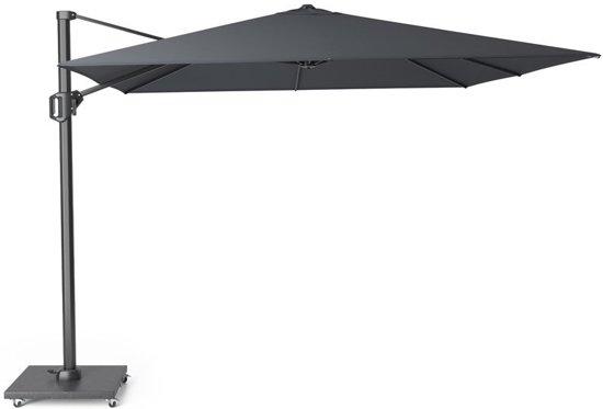Zweefparasol Zwart Vierkant.Platinum Challenger T1 Parasol 300x300cm Zwart Vierkante Zweefparasol