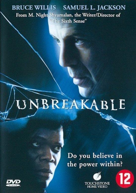 DVD cover van Unbreakable